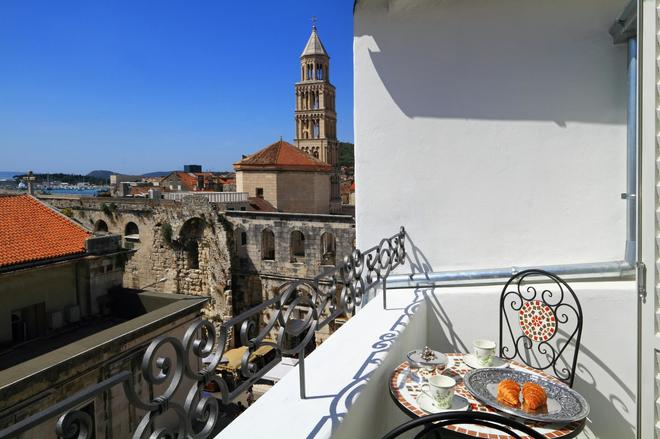 La Porta Luxury Rooms - Split - Balkon