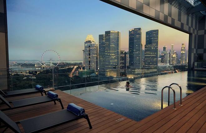 Pan Pacific Serviced Suites Beach Road, Singapore - Singapore - Bể bơi