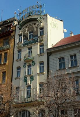 Meran - Πράγα - Κτίριο