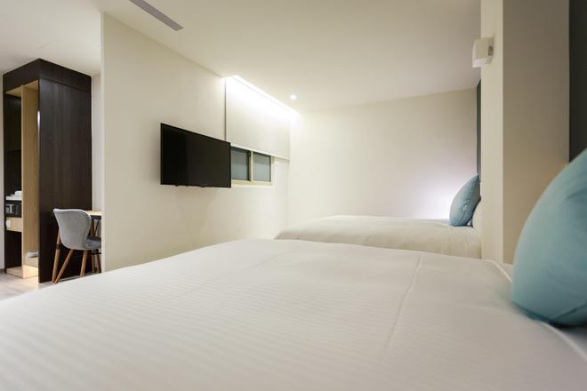 Hub Hotel - Zhongli - Bedroom