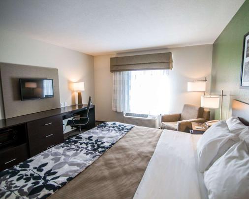 Sleep Inn & Suites & Conference Center - Garden City - Bedroom