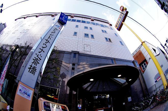 Capsule & Spa Grand Sauna Shinsaibashi - Osaka - Rakennus