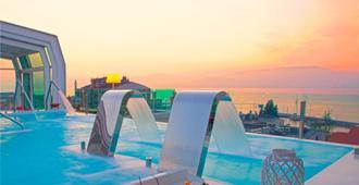 納加里精品水療大酒店號精品水療酒店 - 比戈 - 維戈 - 餐廳