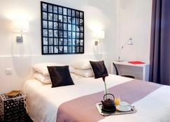 ホテル コレット - カンヌ - 寝室