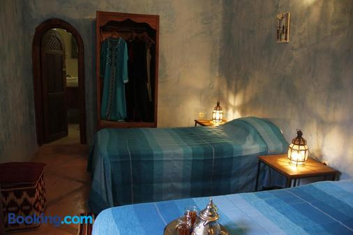 安贊澤里雅得酒店 - 馬拉喀什 - 馬拉喀什 - 臥室