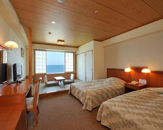 Ryugujo Spa Hotel Mikazuki Ryugutei - Кісарадзу - Bedroom