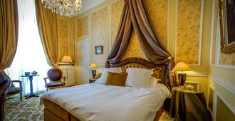 Relais & Chateaux Hotel Heritage - Brugge - Makuuhuone