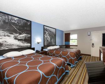 Super 8 by Wyndham Malvern - Malvern - Bedroom