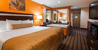 Best Western Inn & Suites of Merrillville - Merrillville - Bedroom