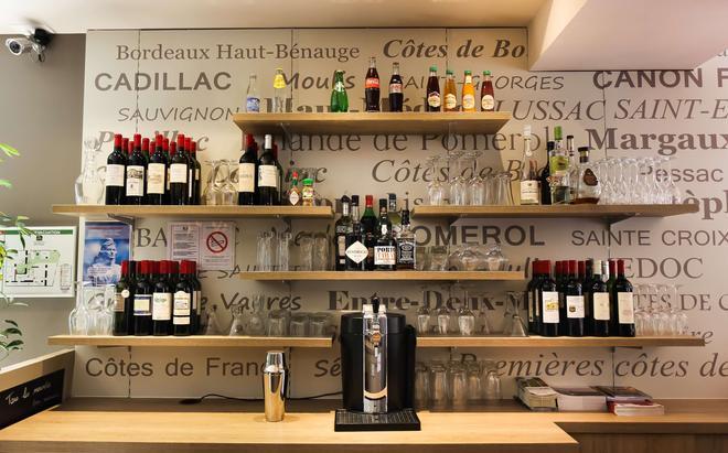 Best Western Hôtel Gare Saint Jean - Bordeaux - Bar