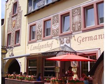 Landgasthof Germania - Rudesheim am Rhein - Gebouw