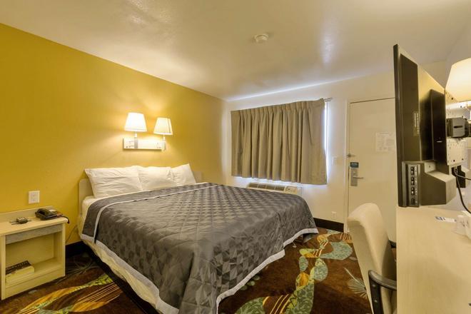美洲最有價值酒店 - 阿馬里洛機場/格蘭街 - 阿馬里洛 - 阿馬里洛 - 臥室