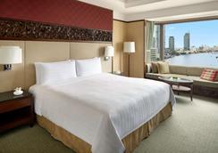 曼谷香格里拉大飯店 - 曼谷 - 臥室