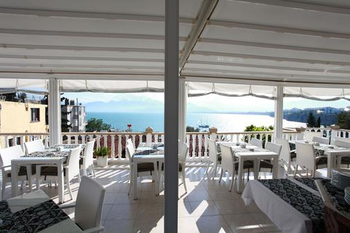 Bacchus Pension - Antalya - Restaurante