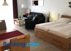 Steiner Strandappartements Appartement 307 Süd- Landseite - Stein (Ostsee) - Kamar Tidur