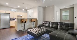 Ultra-Modern South Congress Town Home - Austin - Living room