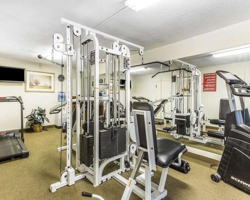 Quality Inn University - Winston-Salem - Fitnessbereich