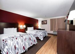 Red Roof Inn Knoxville Central - Papermill Road - נוקסוויל - חדר שינה