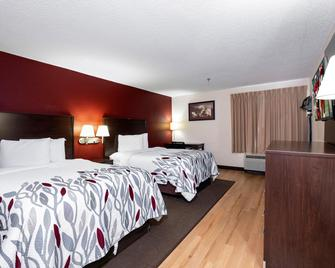 Red Roof Inn Knoxville Central - Papermill Road - Knoxville - Slaapkamer