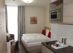 Prime 20 Serviced Apartments - Frankfurt - Soveværelse