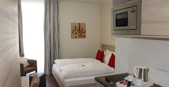 Prime 20 Serviced Apartments - Frankfurt - Makuuhuone