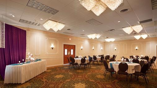 Best Western Plus Longbranch Hotel & Convention Center - Cedar Rapids - Bankettsaal