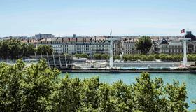 索菲特里昂貝勒庫爾酒店 - 里昂 - 里昂 - 室外景
