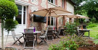 Hotel La Fraichette - Honfleur - Patio