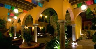 安提瓜卡皮拉住宿加早餐旅館 - 聖米蓋爾德 – 阿言德 - 聖米格爾阿連德 - 天井