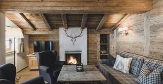 Himmlhof - Sankt Anton am Arlberg - Sala de estar