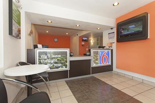 Motel 6 Davis Sacramento Area - Davis - Vastaanotto