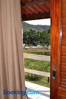 Pousada Sitio Bom Fim - Serra Negra - Balcony