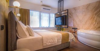 Level Luxury Suites - Βελιγράδι - Κρεβατοκάμαρα