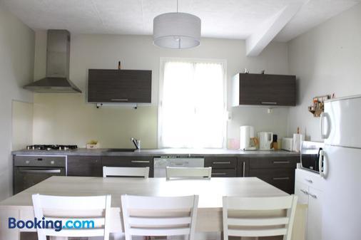 La Massonnière chambres d'hôtes - Vellèches - Kitchen