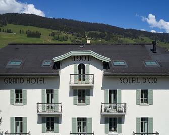 Grand Hôtel du Soleil d'Or - Megève - Gebouw