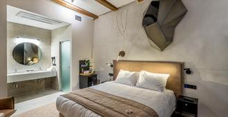Artagonist Art Hotel - Vilnius - Bedroom