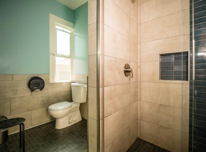 Usa Hostels Hollywood - Los Angeles - Bagno