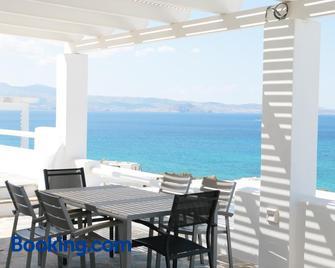 Apricot And Sea Luxury Villas - Mikri Vigla - Living room