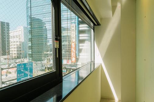 Planetyze Hostel - Tokio - Balcón