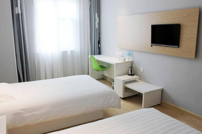 Motel Hefei Jingkai District Furong Road Convention And Exhibition Center - Hefei - Schlafzimmer