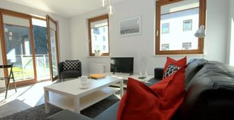 Irs Royal Apartments - Apartamenty Irs Copernicus - Gdansk - Sala de estar
