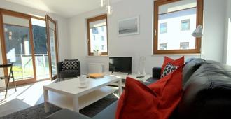 Irs Royal Apartments - Apartamenty Irs Copernicus - גדנסק - סלון