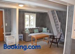Lofoten Cabins - Tind - Sørvågen - Living room
