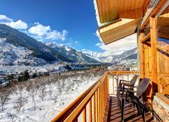 Hotel Mountain Face by Snow City Hotels - Manali - Balcon