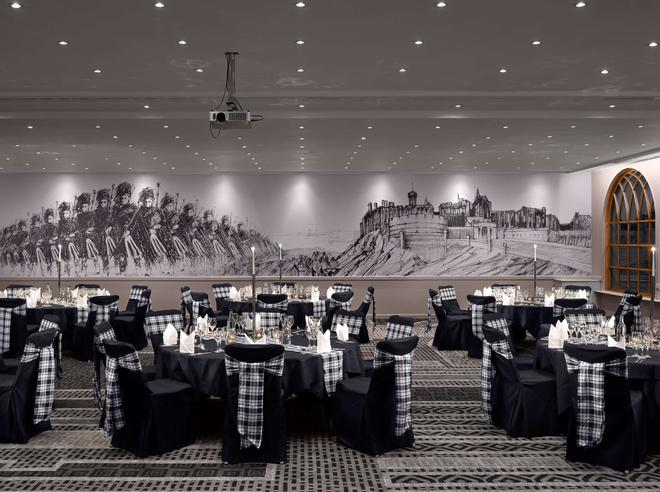 Radisson Blu Hotel Edinburgh City Centre - Edinburgh - Banquet hall