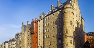 Radisson Blu Hotel Edinburgh City Centre - Edinburg - Gebouw