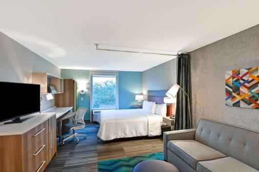 Home2 Suites by Hilton Tampa USF Near Busch Gardens - Tampa - Phòng ngủ