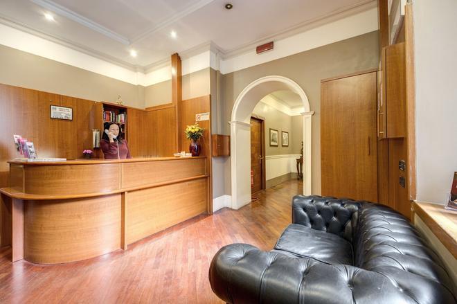 Hotel St. Moritz - Roma - Recepción