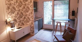 Lik Apparts - 49 Rue Claude Bernard Rennes - רן - סלון