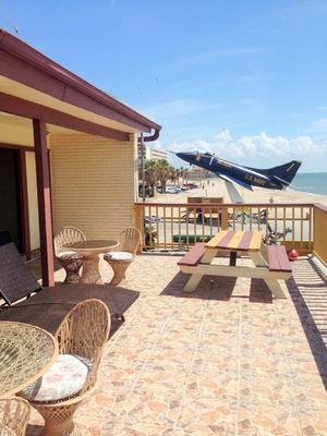 Capri Beach Hotel - Corpus Christi - Balcón